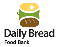 Proud supporter of the Daily Bread Food Bank