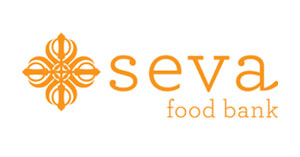 Proud supporter of the Seva Food Bank