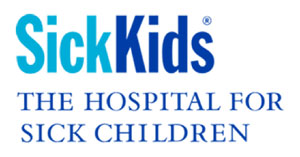 Proud supporter of SickKids hospital for sick children